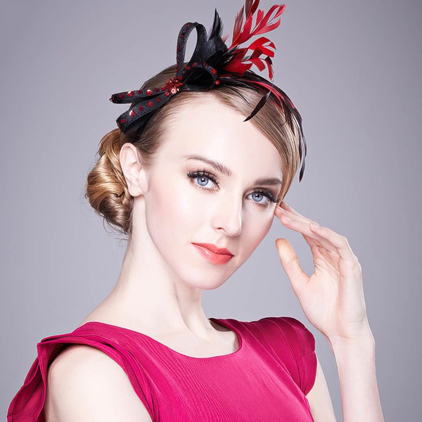 Black Cambric Fascinators