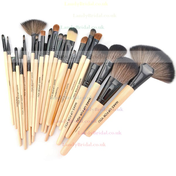 Nylon Professional Makeup Brush Set in 24Pcs