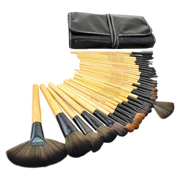 Nylon Professional Makeup Brush Set in 32Pcs #LDB03150003