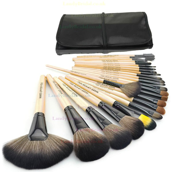 Pony Hair Professional Makeup Brush Set in 24Pcs
