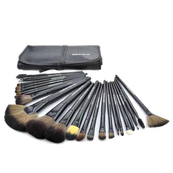 Pony Hair Professional Makeup Brush Set in 24Pcs