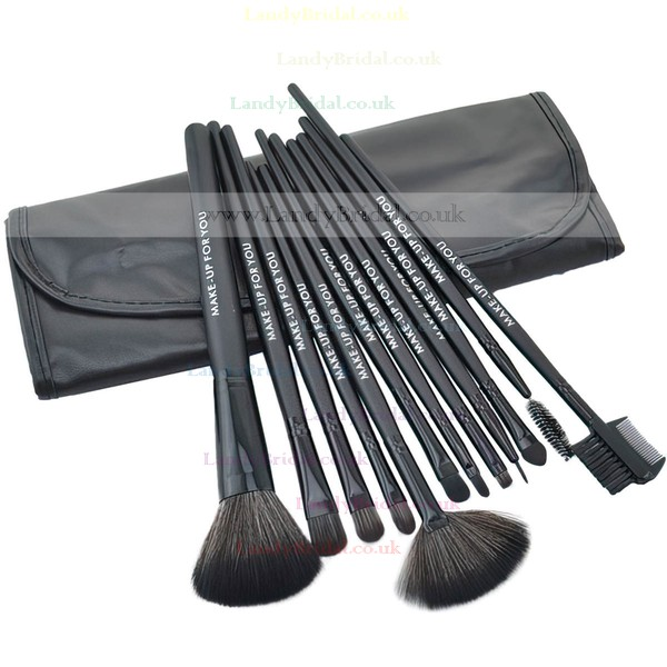 Nylon Professional Makeup Brush Set in 12Pcs