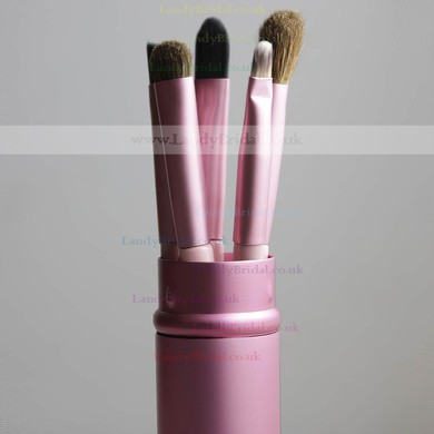 Pony Hair Travel Makeup Brush Set in 5Pcs #LDB03150013