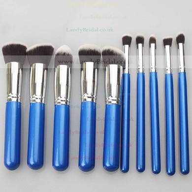 Nylon Professional Makeup Brush Set in 10Pcs #LDB03150014