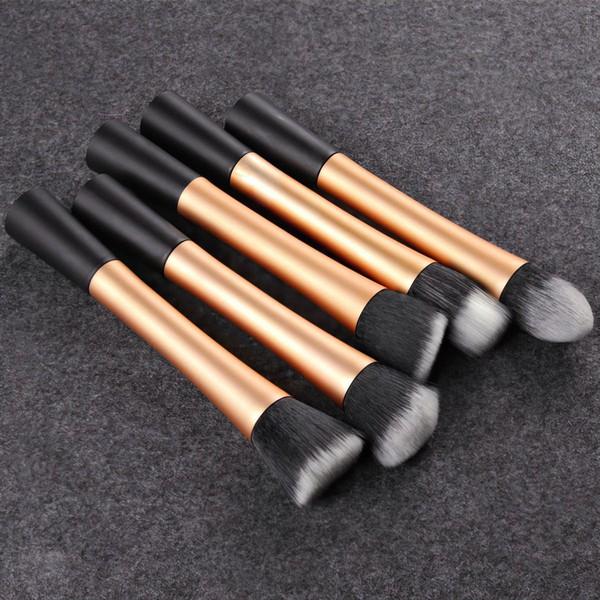 Nylon Professional Makeup Brush Set in 5Pcs #LDB03150018