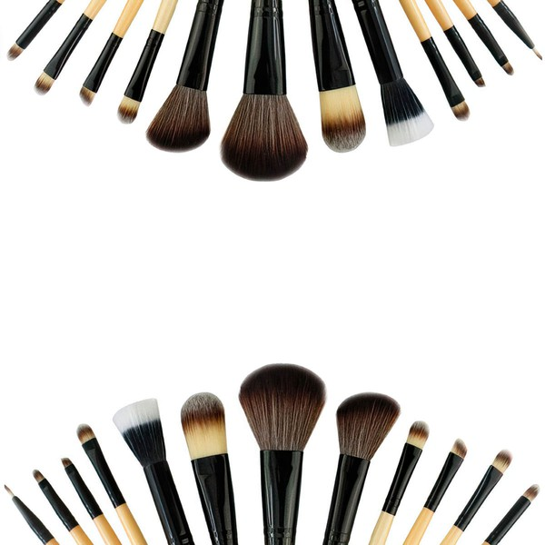 Nylon Professional Makeup Brush Set in 12Pcs #LDB03150020