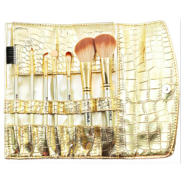 Nylon Professional Makeup Brush Set in 7Pcs