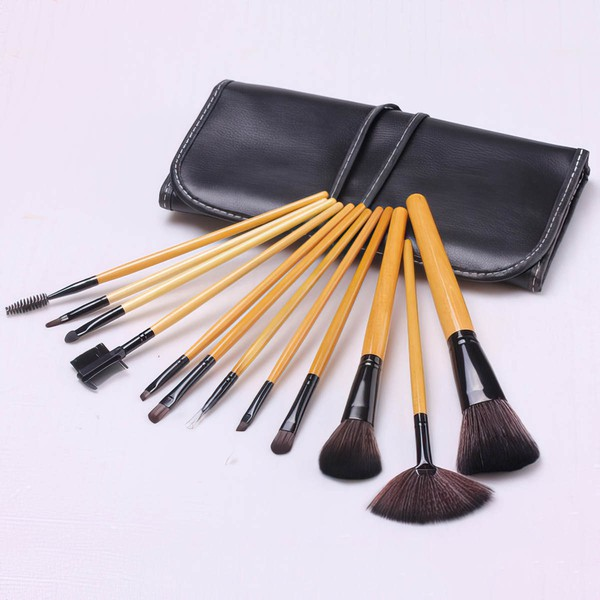 Artificial Fibre Professional Makeup Brush Set in 12Pcs #LDB03150025