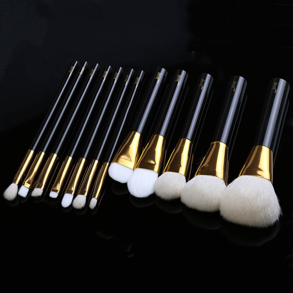 Nylon Professional Makeup Brush Set in 12Pcs #LDB03150030