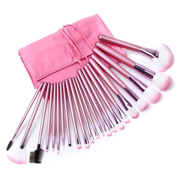 Nylon Professional Makeup Brush Set in 22Pcs #LDB03150032