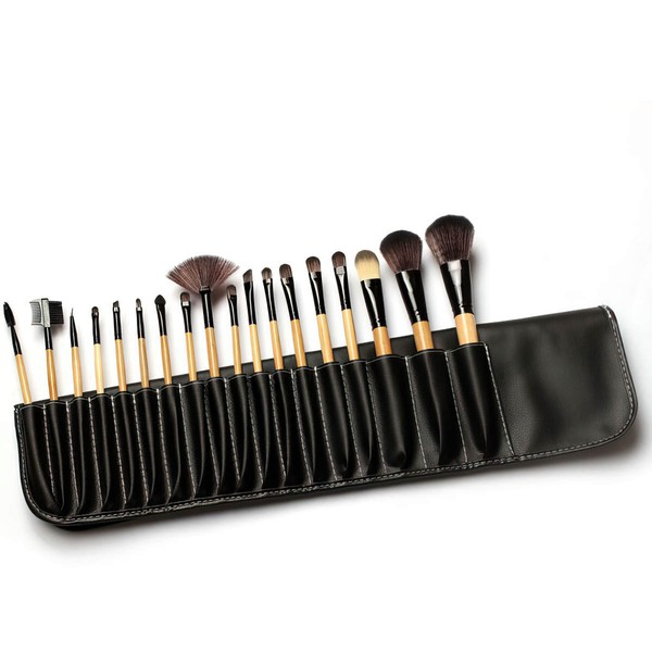Nylon Professional Makeup Brush Set in 18Pcs #LDB03150039