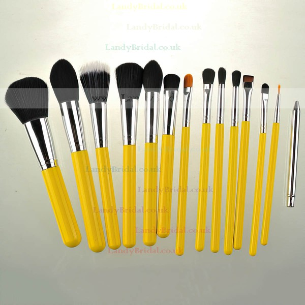 Nylon Professional Makeup Brush Set in 15Pcs