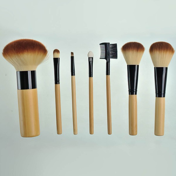 Nylon Travel Makeup Brush Set in 7Pcs #LDB03150049