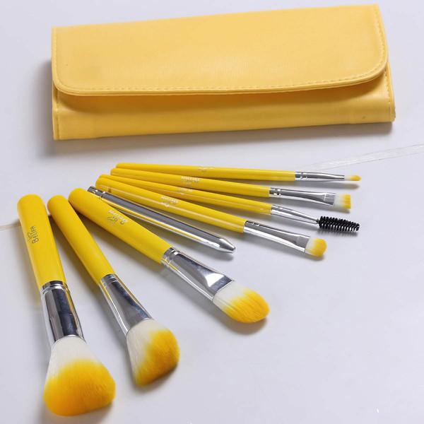 Nylon Travel Makeup Brush Set in 8Pcs