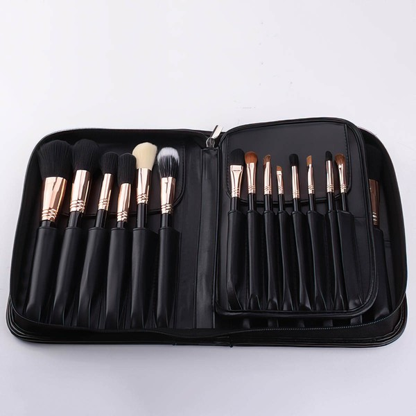 Artificial Fibre Travel Makeup Brush Set in 29Pcs #LDB03150054