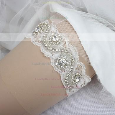 Lace Garters with Rhinestone/Crystal #LDB03090006