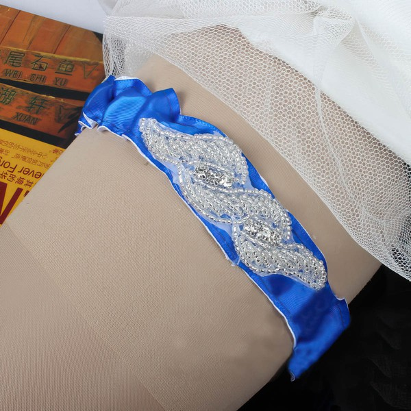 Polyester Garters with Beading/Crystal