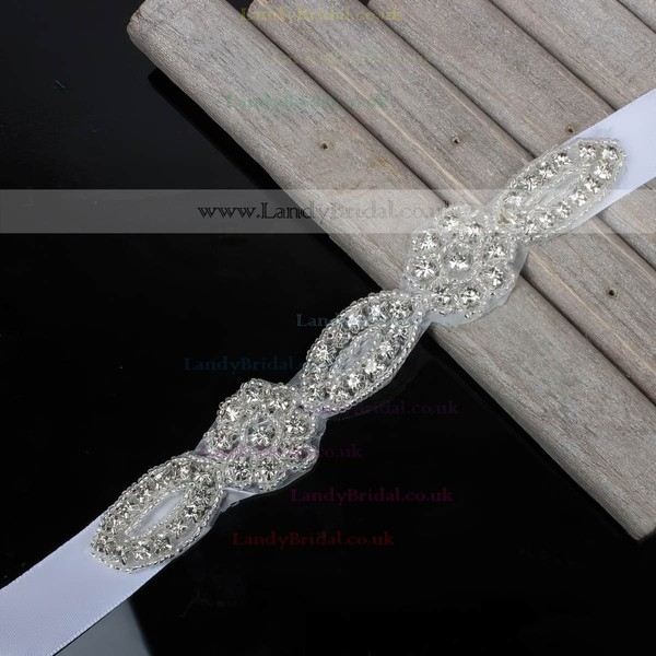 Ribbons Garters with Beading/Crystal