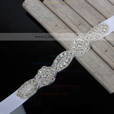 Ribbons Garters with Beading/Crystal #LDB03090050