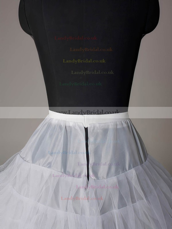 Nylon Half A-Line 3 Tier Short-Length Slip Style/Wedding Petticoats #LDB03130003