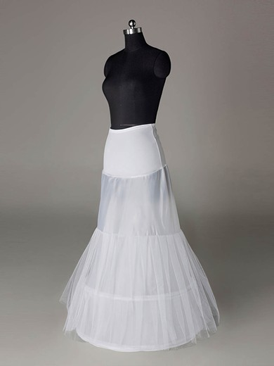 Tulle Netting/Polyester A-Line Full Gown 2 Tier Floor-length Slip Style/Wedding Petticoats #LDB03130005