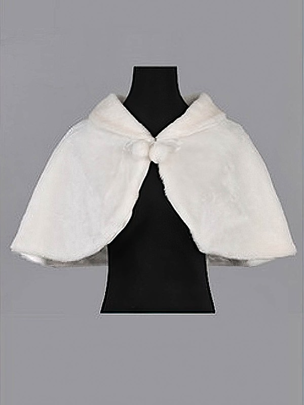 Faux Fur Evening Party/Wedding Shawls #LDB03040002