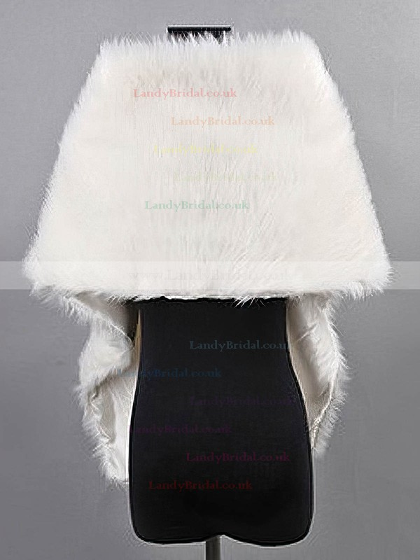 Faux Fur Bridal Wedding Shawls #LDB03040005