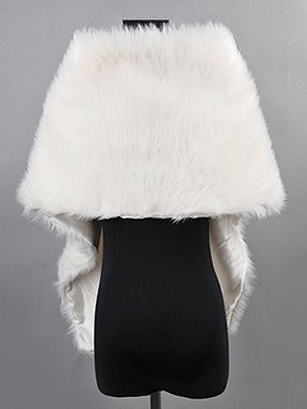 Faux Fur Bridal Wedding Shawls