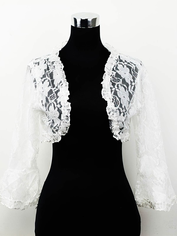 Lace Wedding/Special Occasion Jackets/Wraps #LDB03040008