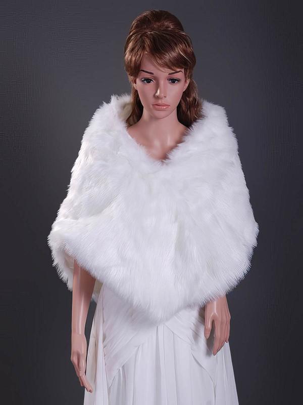 Feather/Fur Wedding Shawls