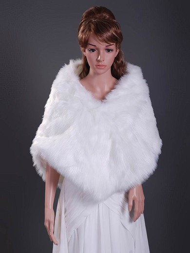 Feather/Fur Wedding Shawls #LDB1420007