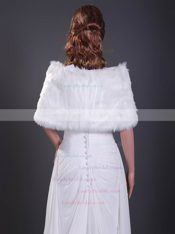 Feather/Fur Wedding Shawls