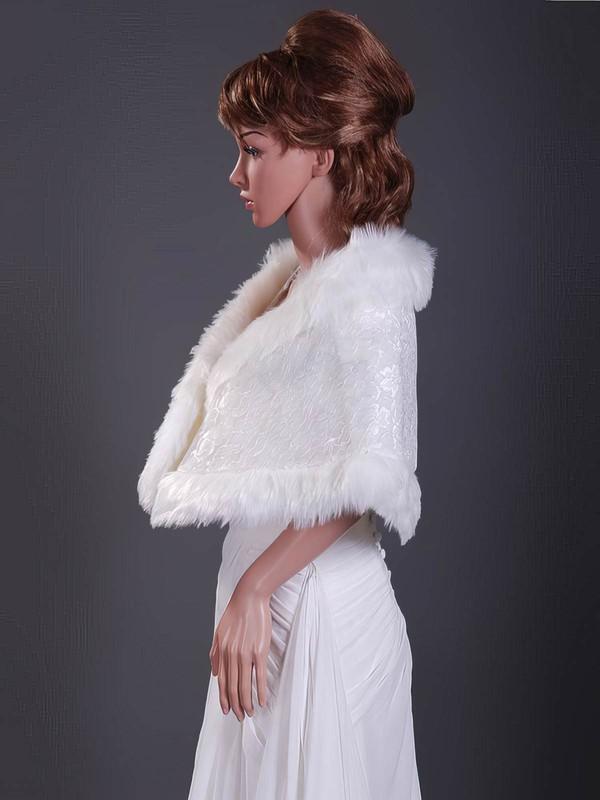 Faux Fur Wedding Shawls