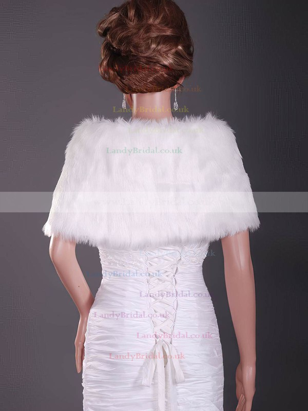 Fabulous Feather/Fur Wedding Shawls #LDB1420021