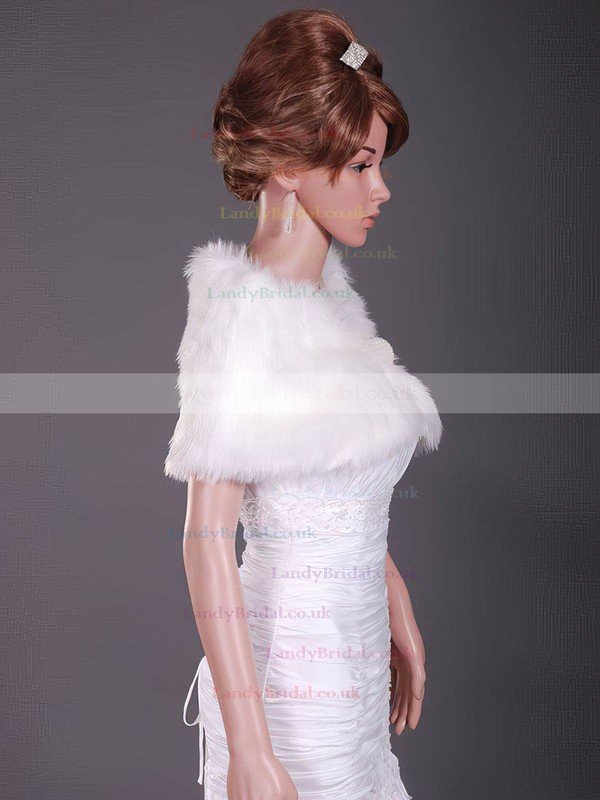 Fabulous Feather/Fur Wedding Shawls
