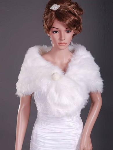 Elegant Feather/Fur Party/Evening/Holiday/Wedding Shawls #LDB1420023