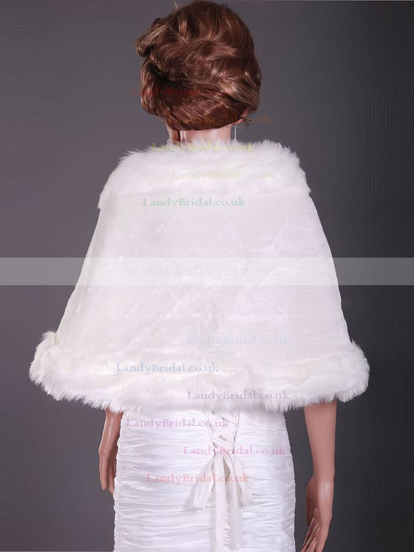 Gorgeous Feather/Fur Wedding Shawls
