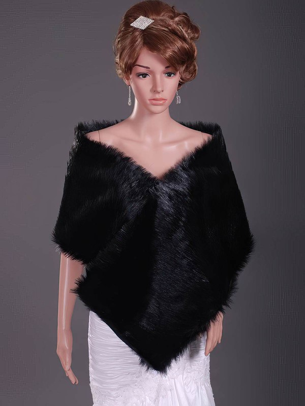 Gorgeous Feather/Fur Party/Evening/Holiday/Outdoor Shawls