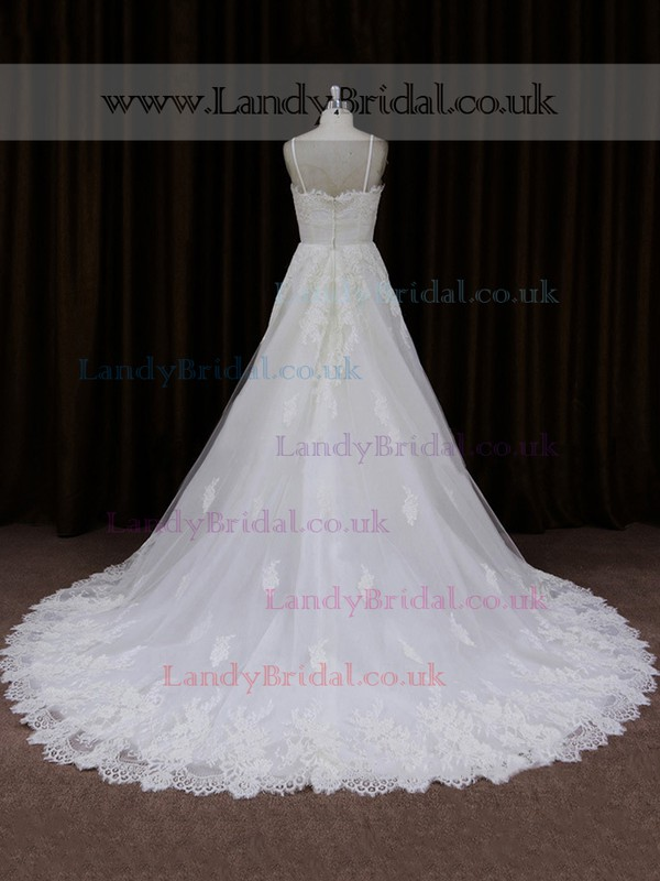Tulle with Appliques Lace Princess Sweetheart Boutique Wedding Dresses #LDB00021753
